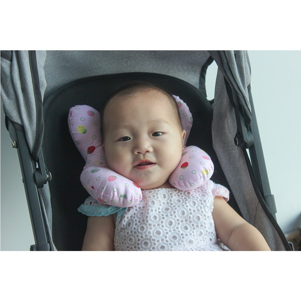 Newborn Baby Travel Pillow Neck Support For Toddler Car Seat To Protect Babys