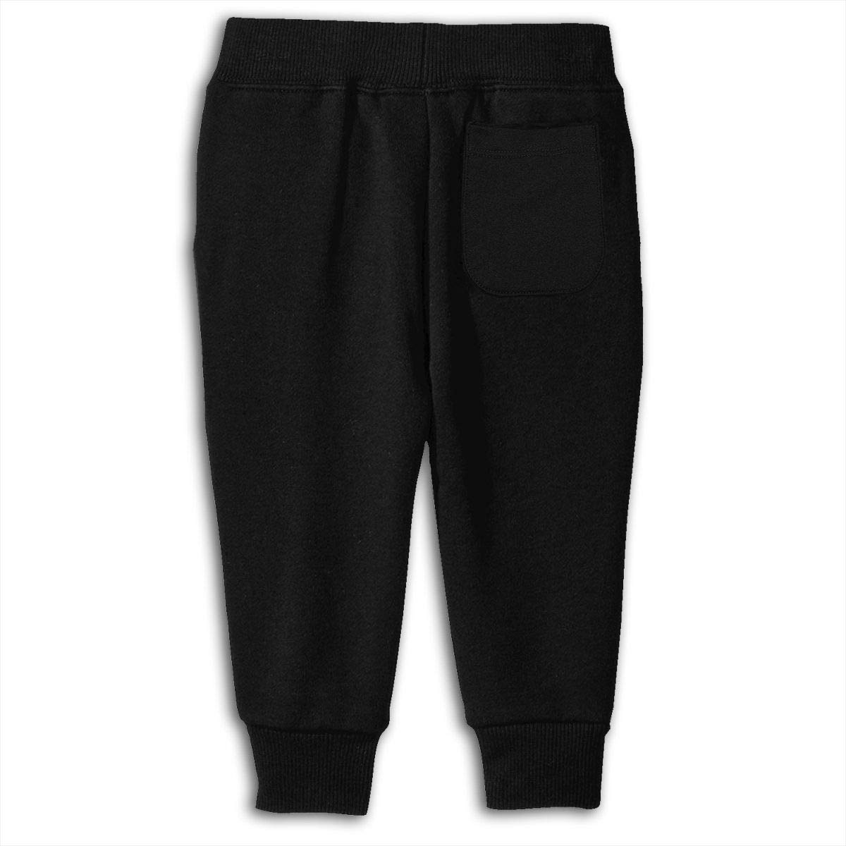 Toddler Jogger Pants Love Heart Hockey Sweatpants
