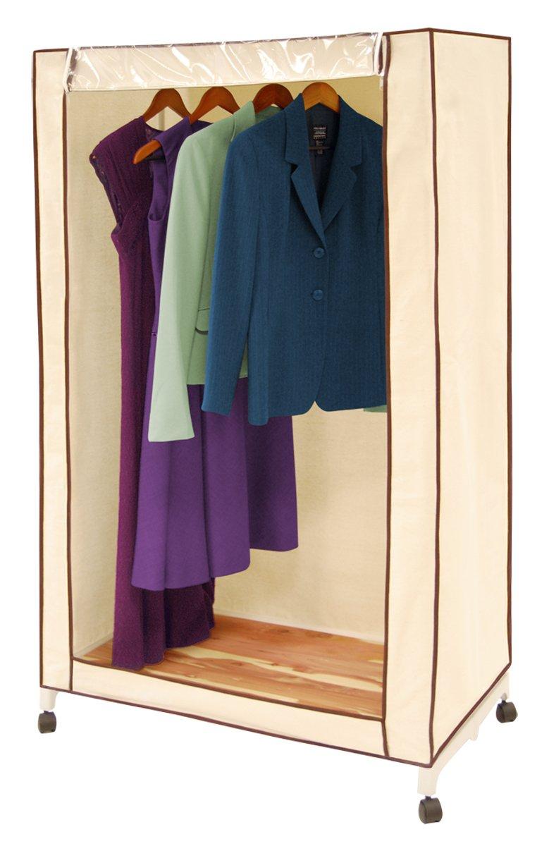 Amazon.com: Pro Mart DAZZ Cedar Wardrobe Closet, Natural Canvas, 36 Inch:  Home U0026 Kitchen