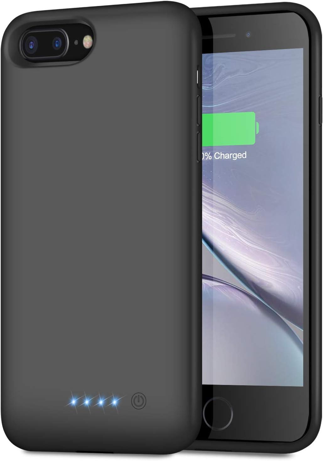 Funda Con Bateria De 8500mAh para iPhone 7Plus 8 Plus 6Plus