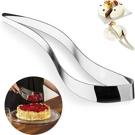 2PCS Flatware Pie Server Stainless Steel Cake Cutter Pizza//Tart//Dessert Slicer.