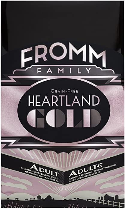 Fromm Family Foods 727065 12 Lb Heartland Gold Grain Free Adult (1 Pack), One Size