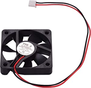 Entweg Cooling Fan,Brushless Cooling Fan 505010mm DC 24V with Sleeve Bearing for Ender 3 3D Printer Extruder