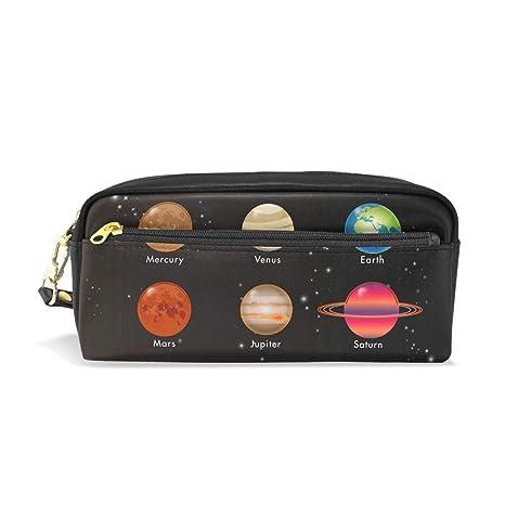 BONIPE - Estuche para lápices con sistema solar, espacio ...