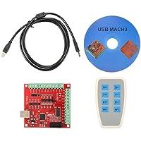 Bewinner Tarjeta Controladora CNC USB, Conexión De 4