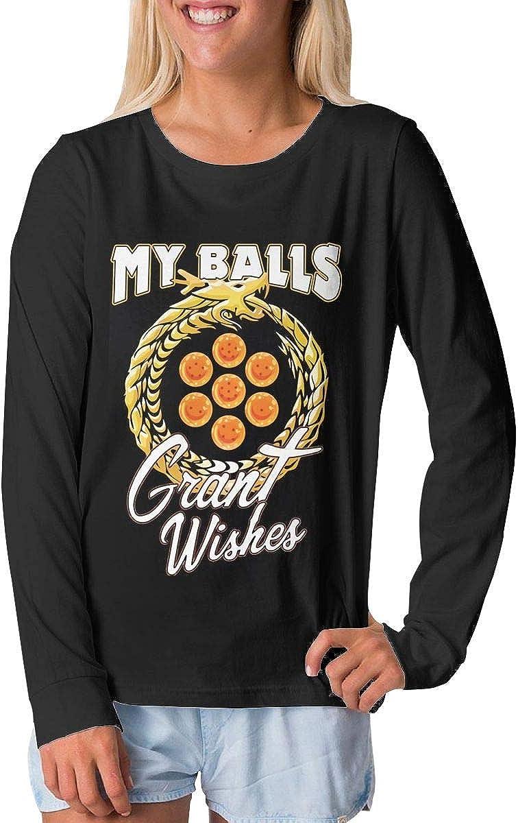 BilliePhillips Teenager My Balls Grant Wishes Comfort Long Sleeve T-Shirt
