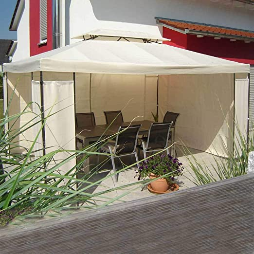 Unbekannt 4 Paneles Laterales con Cierre de Velcro para Carpa Lagos/Elvas/Faro: Amazon.es: Jardín