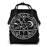 Gothic Elements Diaper Bag Backpack Baby Nappy Bag Multifunction Waterproof Travel Back Pack