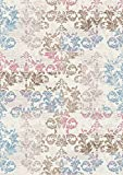 Maxy Home Vogue Collection VG-8030 Contemporary Area Rug - 39-inch-by-60-inch - 3'x5' ((: FREE COURTESY GIFT :))