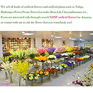 XHSP 30 pcs Real-touch Artificial Tulip Flowers Home Wedding Party Decor 10