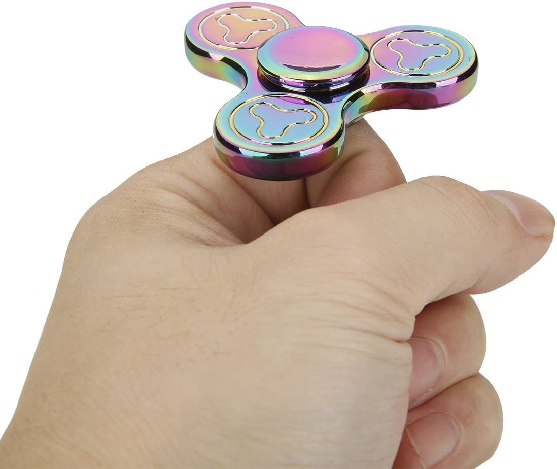 NuoPeng Fidget Hand Spinner EDC Focus Anxiety Stress Relief Toy Plum Blossom