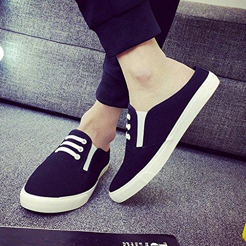nouvelle 7 baotou uk7 44 XIE 41 pantoufles Men's demi taille 9 talon version 5 la traîne Baotou de 2018 chaussures 5 usure 44 paresseux 5 sans 5 porter 9 us8 UK 10 un Peas coréenne US xXgxH4