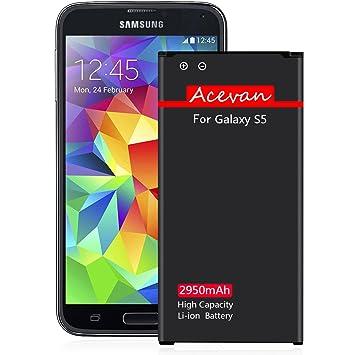 Amazon.com: Batería de repuesto para Samsung Galaxy S5 ...