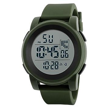 b2bc7da3b68e Reloj niño digital Relojes estudiantiles Reloj analógico digital  impermeable deportivo LED para hombre reloj niño deportivo relojes  deportivos hombre ...