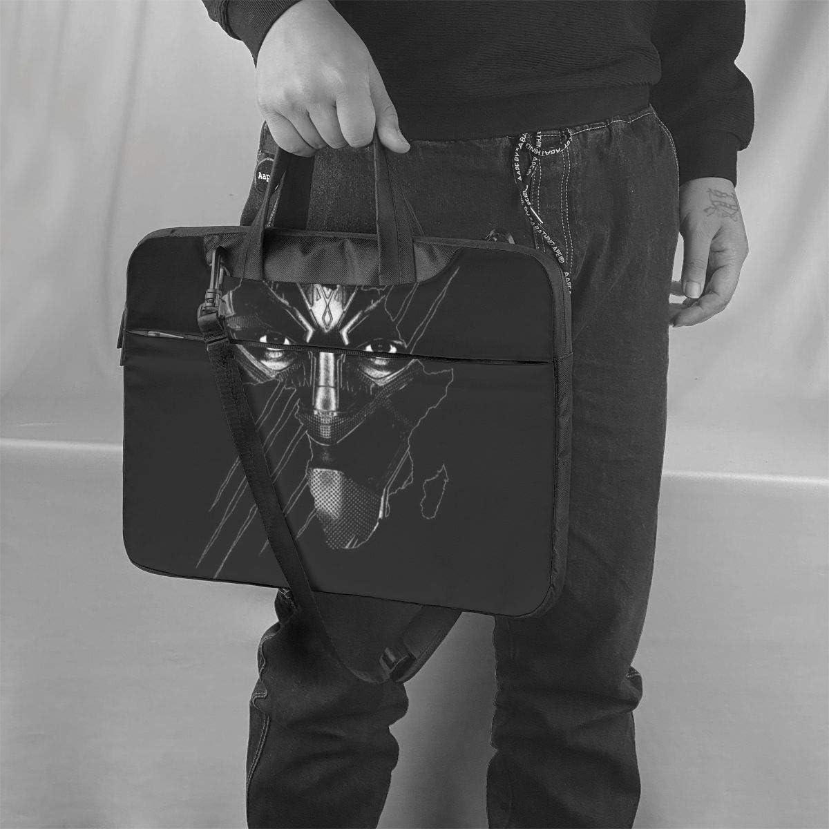 Superhero Superhero Panther Laptop Bag Laptop Messenger Bag Laptop Shoulder Bags Polyester Messenger Carrying Briefcase Sleeve with Adjustable Depth at Bottom 14 inch