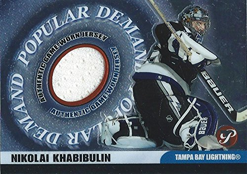 - 2003-04 Topps Pristine Popular Demand Relics Jersey Nikolai Khabibulin NHL 03017
