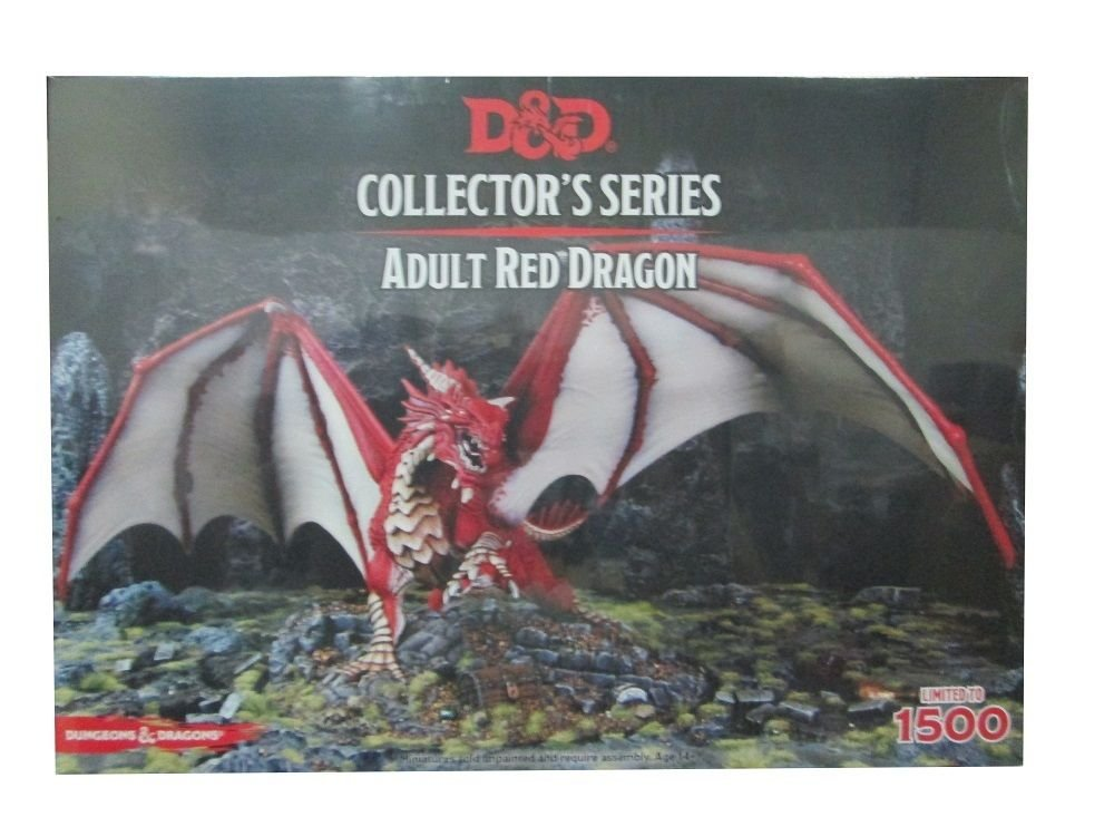 Gale Force Nine GF971010 - Brettspiele, Dungeons und Dragons, 1 Figur , rot
