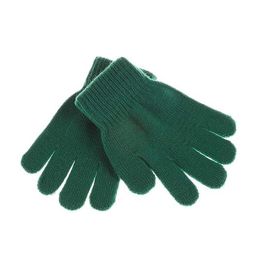 142a54f2c Amazon.com  Winter Warm Baby Gloves Children Knitted Stretch Mittens ...