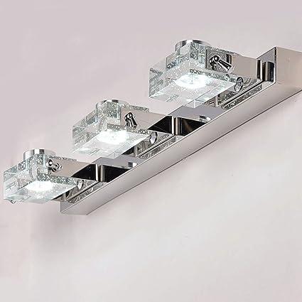 Faros EspejoModernos Lámparas De Delanteros Baño Espejo 1l3TKcFJ