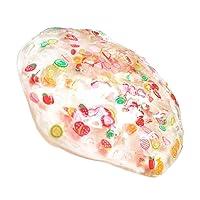 Lavendei Slime Tranche de Fruits Non-toxique en Boue à la Boue DIY Stress Relief Pas de Jouets Borax Jouets à Boue pour Enfants Adultes