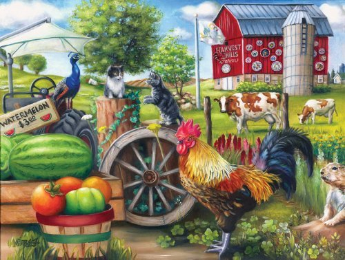 Farm Life a 500-Piece Jigsaw Puzzle by Sunsout Inc. by SunsOut