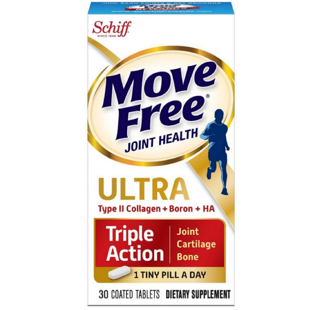 Move Free Ultra Triple Action Joint Supplement, 30 Coated Tablets ( Pack of 6)