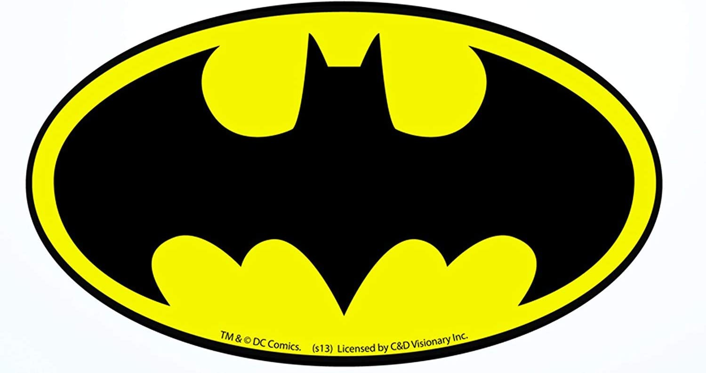Dream Walkers - DC Comics Batman Logo Sticker Car, Laptop, Guitars and Skateboards