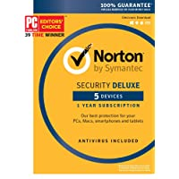 Deals on Symantec Norton Security Deluxe 5 Device
