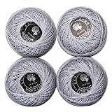 Colorful Braid Size3 Crochet Floss 100% cotton Crochet thread for garments, clothing, shoes, hats gloves, socks, jewelry or DIY crafts making, best gift for the one you love (Color NO.:415)