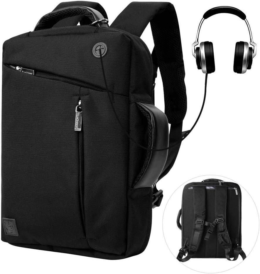 17.3 Inch Convertible Laptop Backpack Classic Work Travel College Bookbag Computer Bag for Men Women Dell Inspiron 17 7000 Alienware 17 Precision 7730 HP Envy 17 Omen 17 ZBook 17 G4 G5