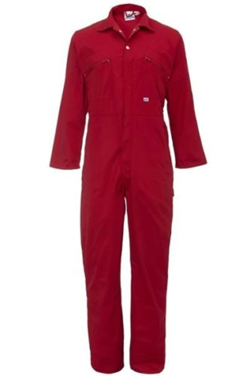 Ladies Zip Front Boilersuit Workwear Boiler Suit Coverall Overall Womens Girls