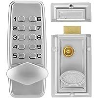Waterdicht Codeslot-Wachtwoordslot, 2-4 Cijfers Mini Mechanisch Codeslot, Kast Binnendeur Buiten Wachtwoordbeveiliging…