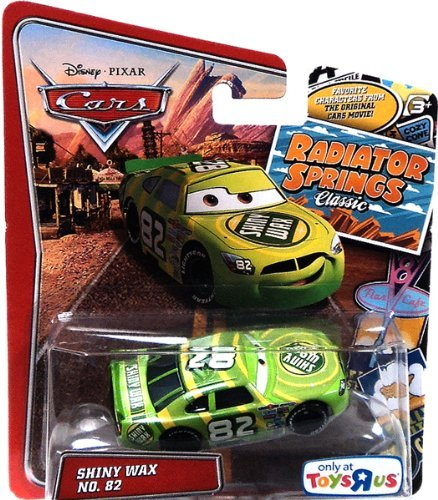 - Pixar Cars Radiator Springs Classic Exclusive Shiny Wax 1:55 Scale Mattel