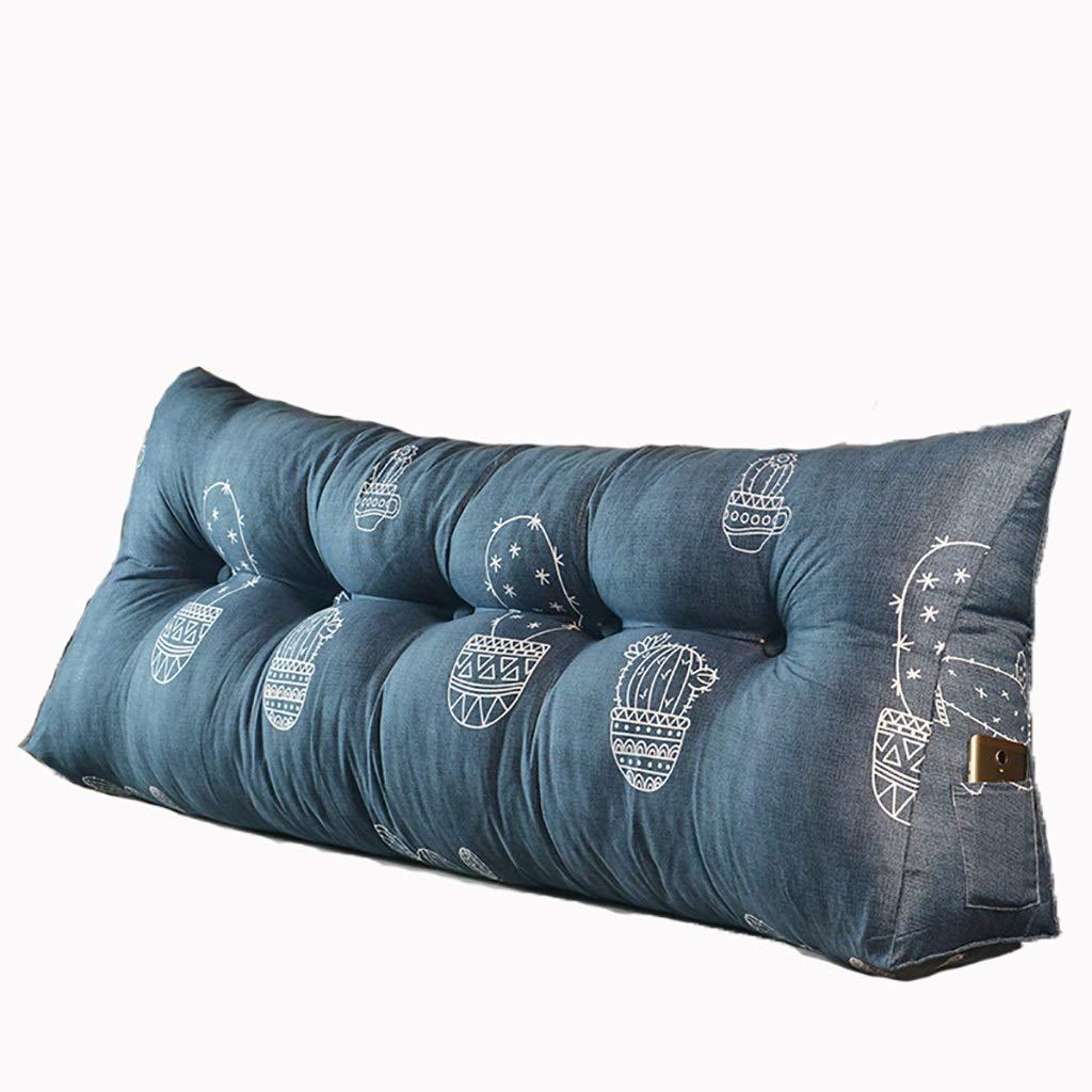 ベッド枕 マルチパターン選択ベッドロングピローヘッドボードソフトバッグトライアングルダブル畳布クッションピロー大背もたれ取り外し可能で洗えるサイズ90 cm-200 cmオプション 写真ベッド枕首まくら (色 : U, サイズ さいず : 200cm) B07RW4ZP9B