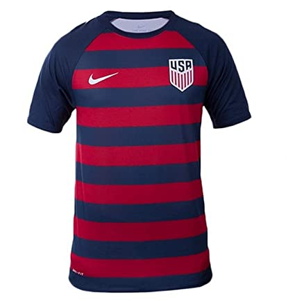 low priced 3fe0c 36680 Nike Men's USA Vapor Match Gold Cup Soccer Jersey Red/Navy/White