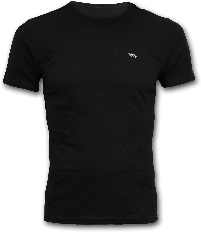 Lonsdale Herren Unterhemd Unterw/äsche T Shirt Schwarz