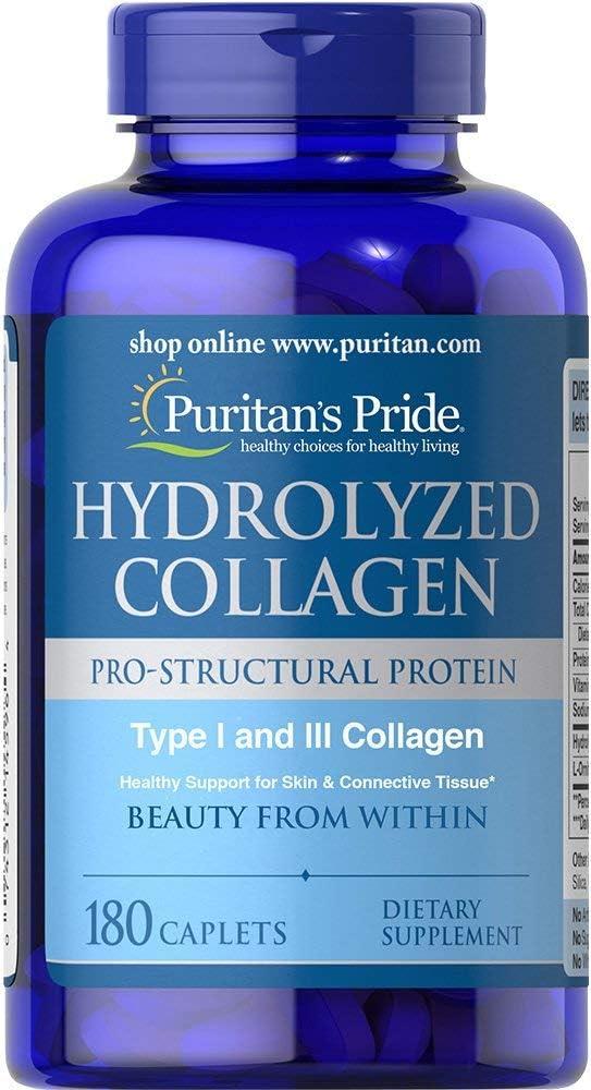 Colageno hidrolizado, 1000 mg 180 Caps