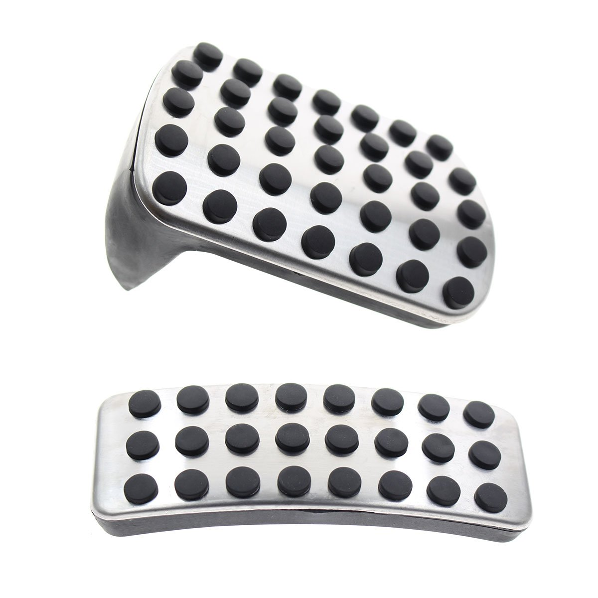 GooDeal Stainless Steel Sport Pedal Pads for Mercedes Benz M GL R Class AMG