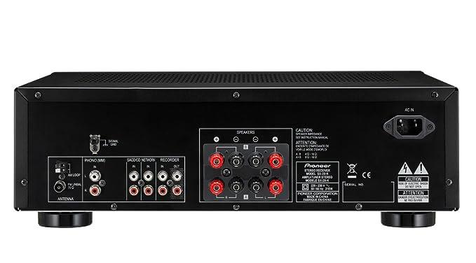 Pioneer SX-20 - Receptor para equipo de audio, negro: Amazon.es ...