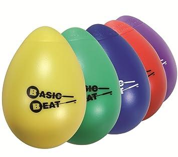 Amazon.com: Basic Beat Single Egg Shaker: Musical Instruments