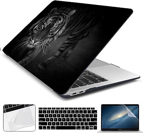Amazon.com: Batianda - Funda rígida para MacBook Pro 13 2017 ...