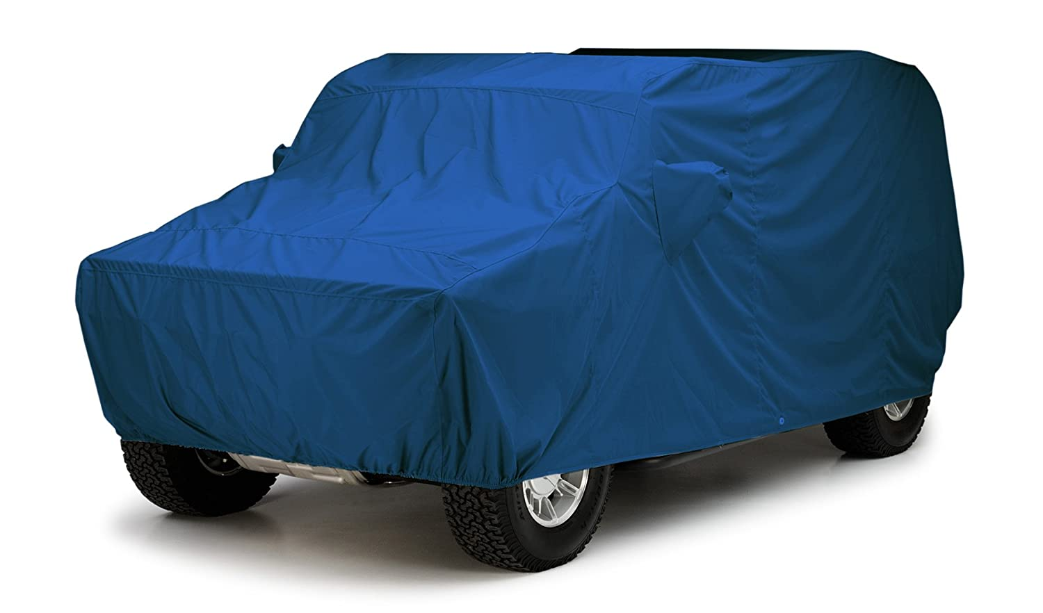 WeatherShield HP Fabric, Light Blue Covercraft Custom Fit Car Cover for Land Rover Defender 90