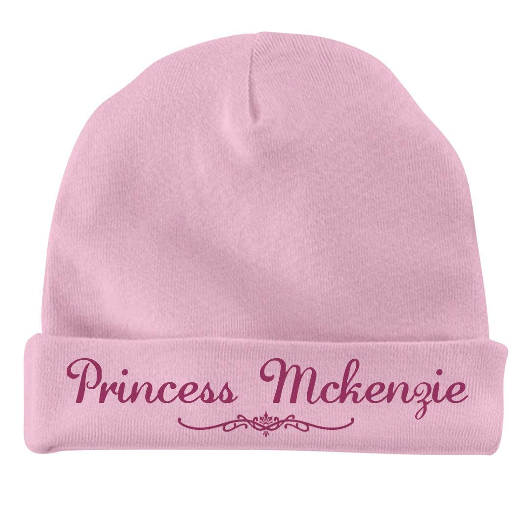 Infant Baby Hat FUNNYSHIRTS.ORG Princess McKenzie Newborn Gift