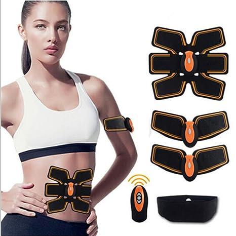 Addome Machines Stimolatori elettrici Cinghia per tonificazione muscolare  addominale EMS Home Fitness Training Gear 76d53f3e25b