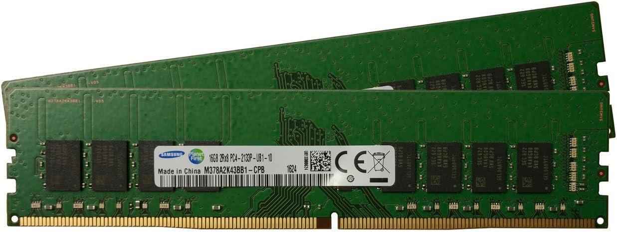 Samsung 32 Gb Kit Ddr4 Pc4 17000 2133 Mhz 288 Pin Computer Zubehör