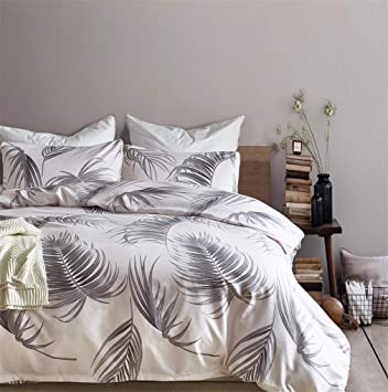 Duvet Cover Twin//Single Set Soft 100/% Cotton Comfy Hypoallergenic Fuzzy Bedding Hotel Collection Satin//Sateen Weave Black
