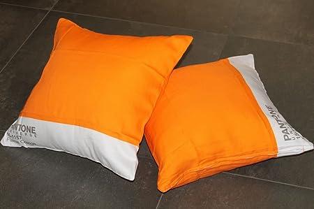 Cuscini Pantone.Copri Cuscino Arredo Pantone By Bassetti 15 1157 Flame Orange