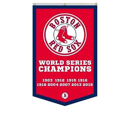 b30e6da4818 Amazon.com   2Love Boston Red Sox 9-Time World Series Champions Banner Flag  30