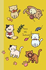 Meow Cat Journal: 6x9 Journals Lined to Write in for Women & Girls by COco Blank Books & Journals; Perfect for Notes, Lists, Ideas, Poems, Diary; 110 ... Cream Paper (COco Blank Books and Journals) Paperback
