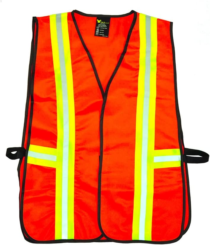 Small Product Image of G&F 41113 Industrial Safety Vest<br />